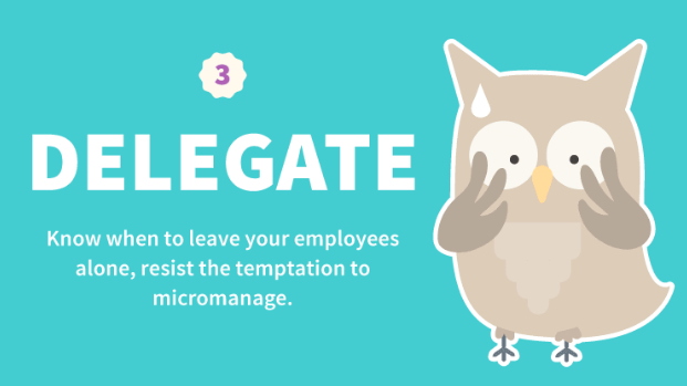 great boss rules delegate