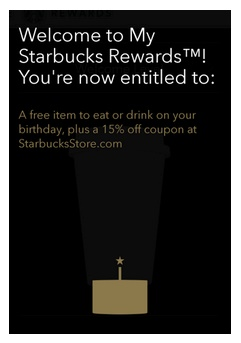 starbucks-my-rewards push notification